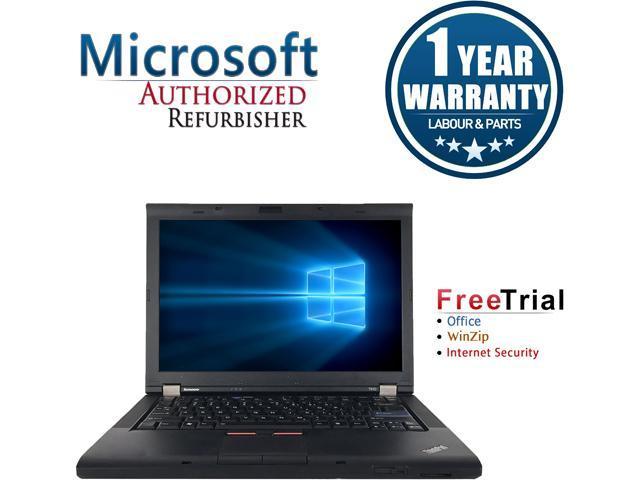 Lenovo Laptop ThinkPad T410 Intel Core i5 520M (2.40 GHz) 4 GB Memory 160 GB HDD Intel HD Graphics 14.1