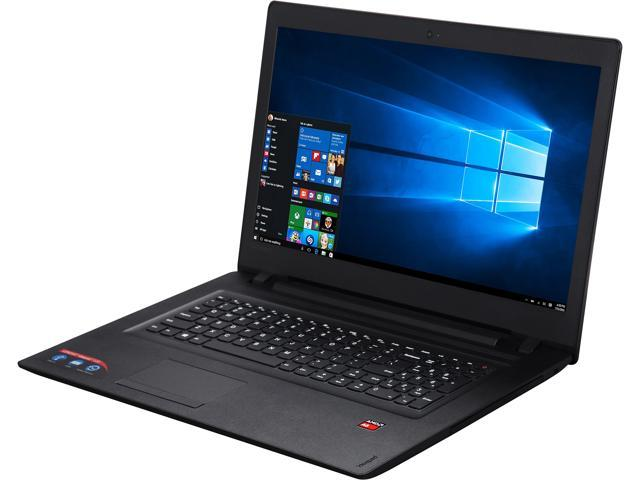 Lenovo Laptop ideapad 110 80UM000CUS AMD A6-Series A6-7310 (2.00 GHz) 4 GB Memory 1 TB HDD 17.3