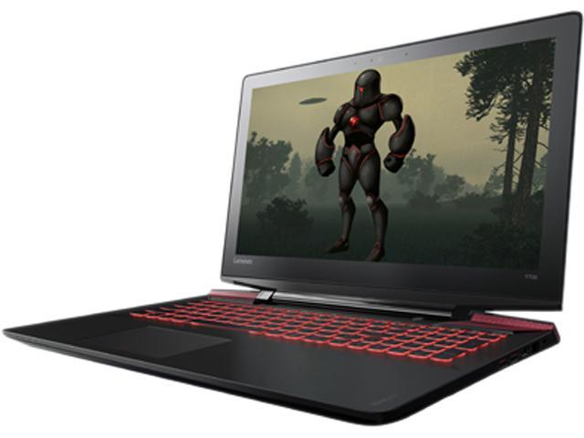 "Open Box: Lenovo 15.6"" Y700 Touch-15ISK Intel Core i7 6th Gen 6700HQ (2.60 GHz) NVIDIA GeForce GTX 960M 16 GB Memory 8 GB SSD 1 TB HDD Windows 10 Home 64-Bit Gaming Laptop"