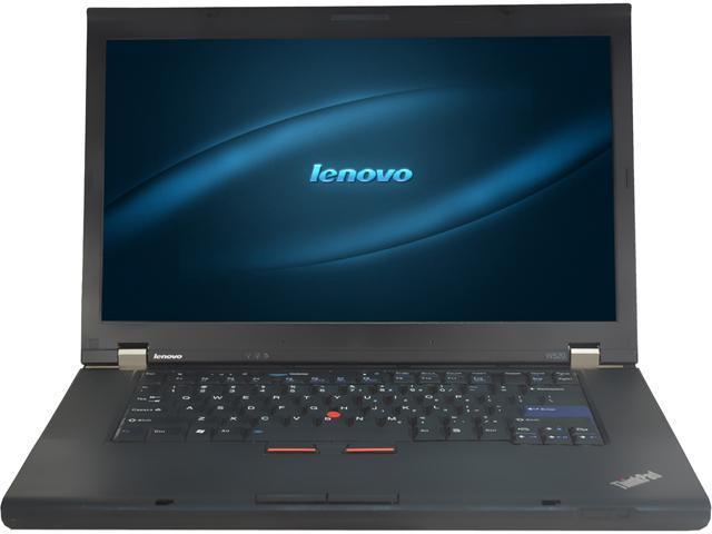 Lenovo Laptop W520 Intel Core i7 2760QM (2.40 GHz) 8 GB Memory 750 GB HDD Intel HD Graphics 3000 15.6