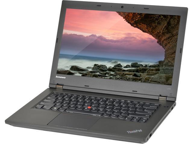 Lenovo Laptop L Series L440 Intel Core i5 4300M (2.60 GHz) 4 GB Memory 500 GB HDD 14.0