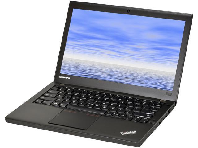 Lenovo Laptop X240 Intel Core i5 4300U (1.90 GHz) 8 GB Memory 500 GB HDD Intel HD Graphics 4400 12.5
