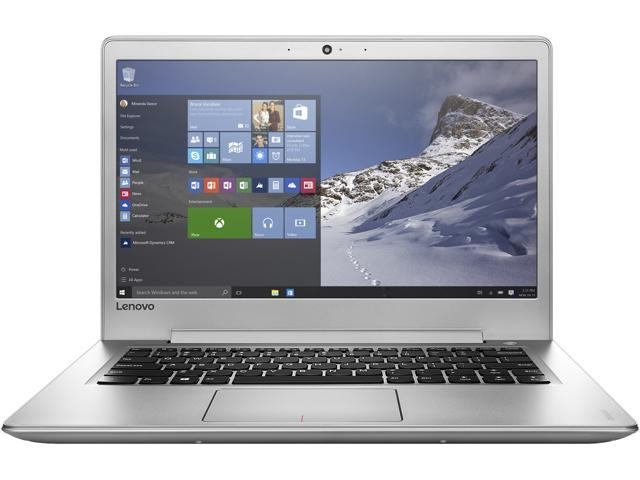Lenovo Laptop IdeaPad 510s (80UV001AUS) Intel Core i5 7200U (2.50 GHz) 8 GB Memory 1 TB HDD Intel HD Graphics 620 14.0