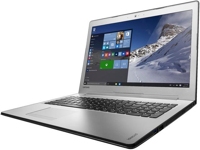 Lenovo Laptop IdeaPad 510 (80SV0056US) Intel Core i7 7500U (2.70 GHz) 8 GB Memory 256 GB SSD Intel HD Graphics 620 15.6