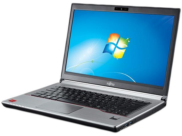Fujitsu Laptop LifeBook SPFC-E744-001 Intel Core i5 4th Gen 4200M (2.50 GHz) 4 GB Memory 500 GB HDD 8 GB SSD Intel HD Graphics 4600 14.0