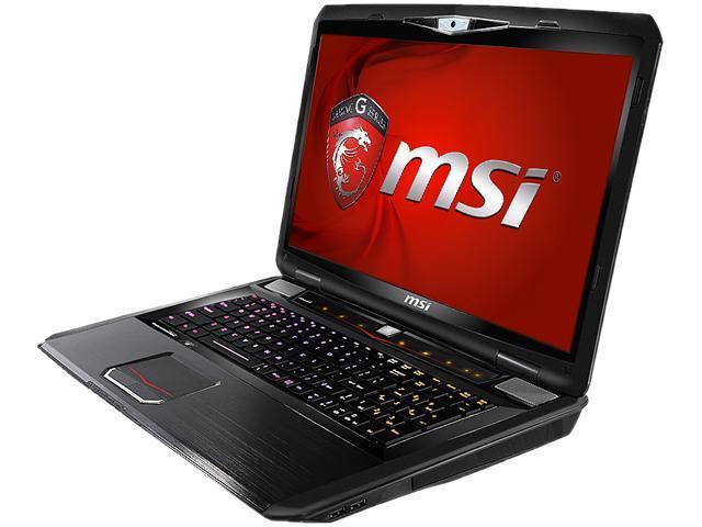 "MSI GT70 Dominator-894 Notebook Intel Core i7-4800MQ 2.7GHz 17.3"" Windows 8.1"