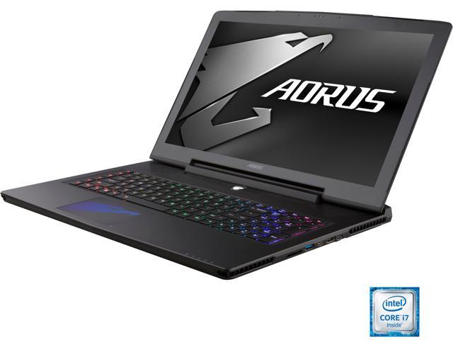 Aorus X7 v6-PC3K4D  QHD 120Hz Gaming Laptop Intel Core i7 6820HK (2.70 GHz) 16 GB Memory 1 TB HDD 512 GB SSD NVIDIA GeForce GTX 1070 8 GB GDDR5 17.3