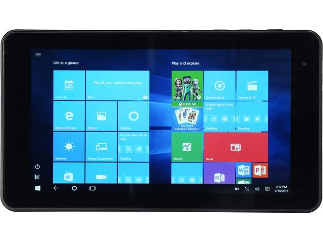 "Vulcan JOURNEY VTA0703IM16 Intel Atom 1 GB Memory 16 GB eMMC 7"" Touchscreen Tablet Windows 10 Home"