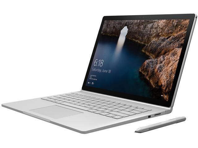 Microsoft Surface Book CR9-00001 Intel Core i5 6300U (2.40 GHz) 8 GB Memory 128 GB SSD Intel HD Graphics 520 13.5