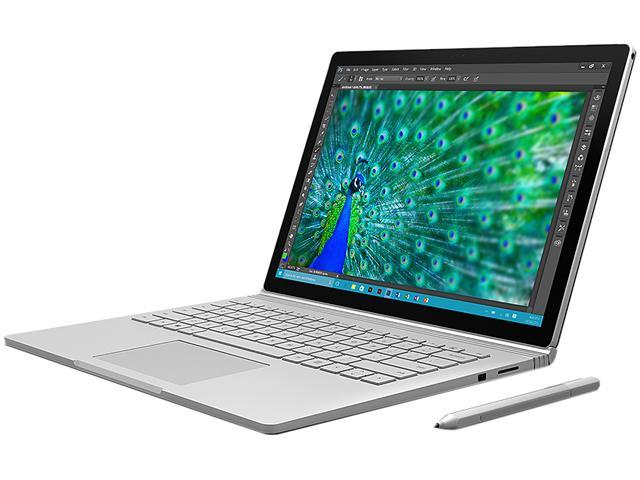 "Microsoft Surface Book CR9-00001 2-in-1 Laptop Intel Core i5 6300U (2.40 GHz) 128 GB SSD Intel HD Graphics 520 Shared memory 13.5"" Touchscreen Windows 10 Pro 64-Bit"