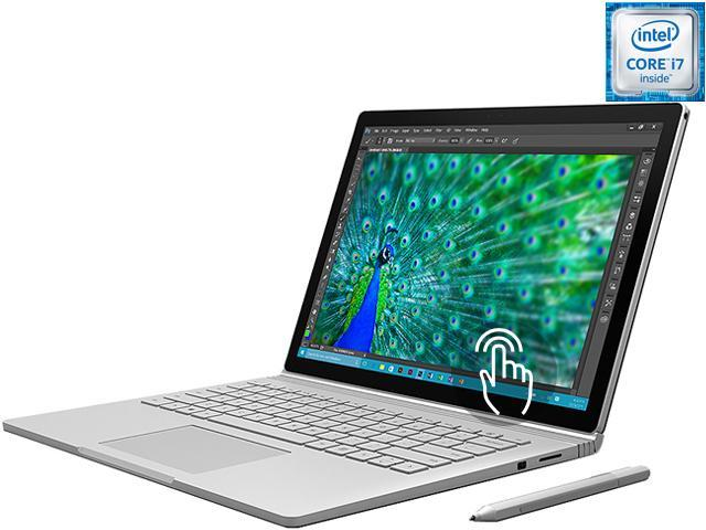 "Microsoft Surface Book CR7-00001 2-in-1 Laptop Intel Core i7 512 GB SSD NVIDIA GeForce graphics 13.5"" Touchscreen Windows 10 Pro 64-Bit"