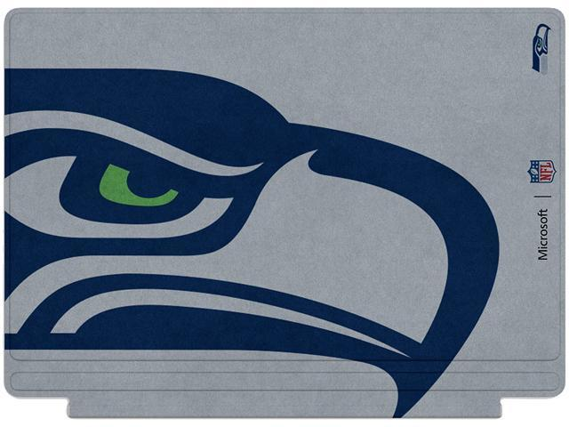 Microsoft Surface Pro-4 Keyboard/Type Cover Nfl/seattle Seahawks 1yr SNO-QC7-00131