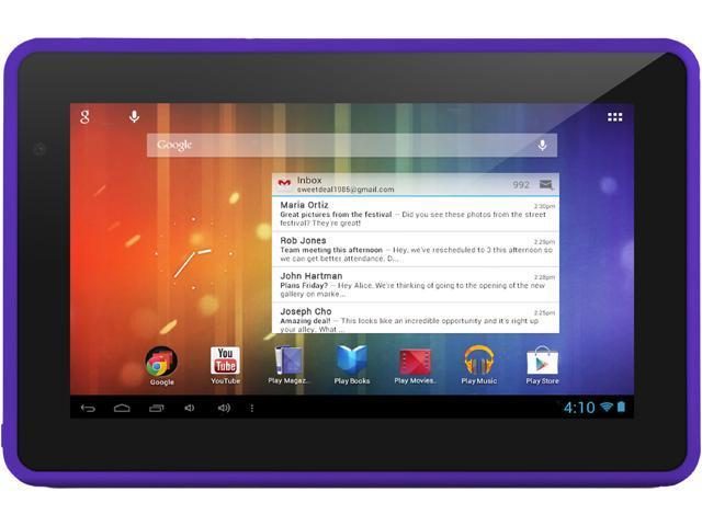 "Ematic EGS004-PR 4 GB 7.0"" Tablet"