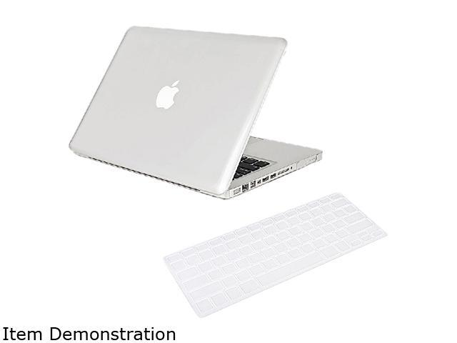 Insten Clear Crystal Hard Case Cover + Keyboard Cover Skin for Apple Macbook Pro 13