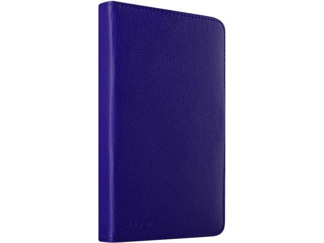 Insten Navy Blue Stand Folio Leather Case for iPad Mini 3 / Google Nexus 7 / Dell Venue 7 / HP Slate7 / Galaxy Tab 3 7
