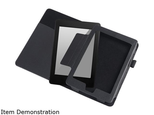 Insten 1901542 Flip Leather Case for Amazon Kindle Paperwhite / Kindle Touch, Black