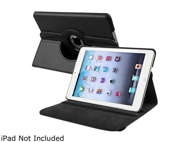 Insten 1901649 360 Rotating Swivel Folio Stand Leather Case for Apple iPad Mini 1/ Apple iPad Mini with Retina Display (iPad Mini 2)/ Apple iPad Mini 3, Black