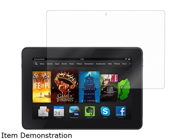 roocase Ultra HD Crystal Clear Invisible Screen Protectors for Kindle Fire HD 6 2014
