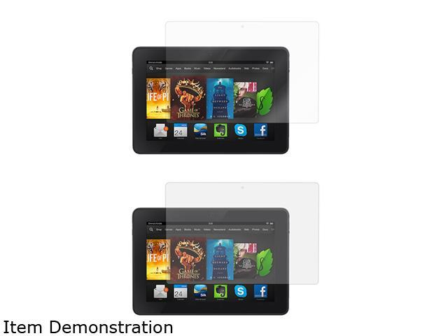 roocase 4-Pack Screen Protector (2 HD Clear & 2 anti-glare) for Kindle Fire HD 7 2014