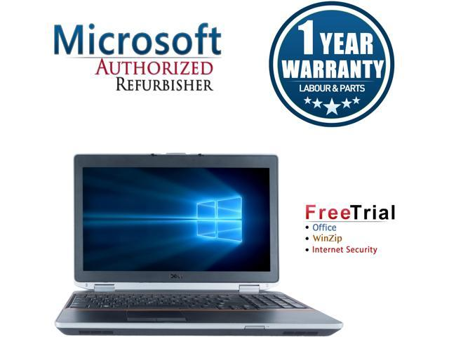 Refurbished Dell Latitude E6520 15.6