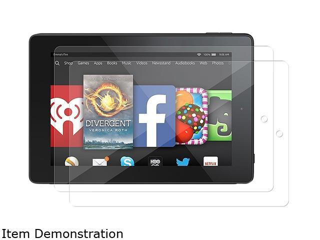 Insten 2-pack of Clear Screen Protector Guard for Amazon Kindle Fire HD 7
