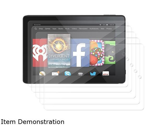 Insten 5-pack of Clear Screen Protector Guard for Amazon Kindle Fire HD 7