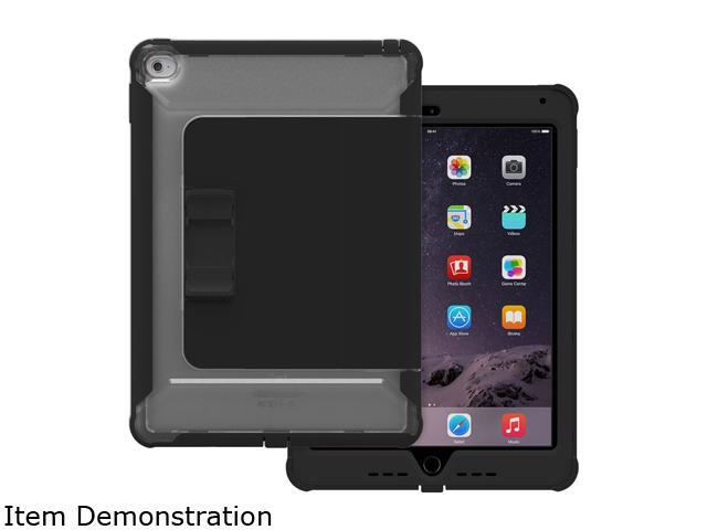 Trident Case Black / Clear Back Cyclops Case with Sliding Kickstand for Apple iPad Air 2 Model CY-APIPA2-CLSLK