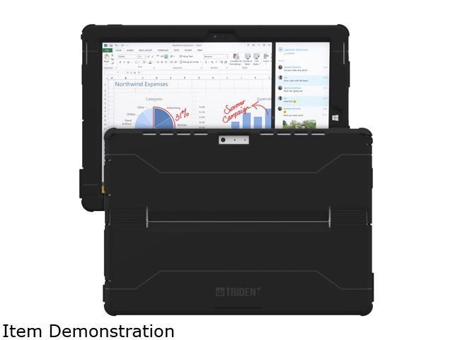 Trident Case Black Cyclops Case for Microsoft Surface Pro 3 Model CY-MSSFP3-BKC00