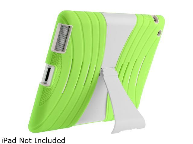 i-blason ArmorBox Stand Convertible Hybrid Kick Stand Case for Kids iPad 5 iPad5-ABH-Green/White