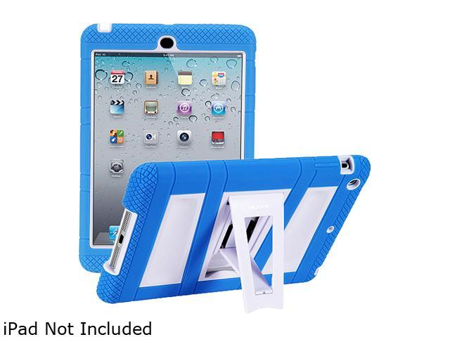 i-blason ArmorBox Stand Convertible Hybrid Kick Stand Case for iPad Mini iPadmini-ABH-Blue/White