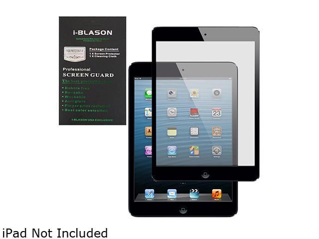 i-blason HD Matte Bubble Free Screen Protector for Apple New iPad 5 iPad5-BF-Black