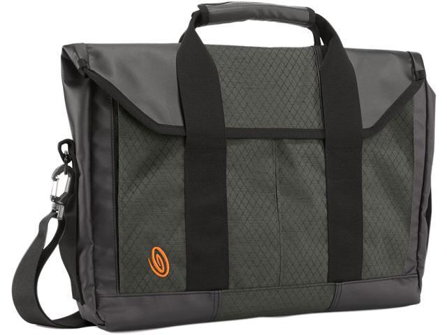 Timbuk2 Black/Carbon Ripstop Sidebar Briefcase Model 811-4-2194