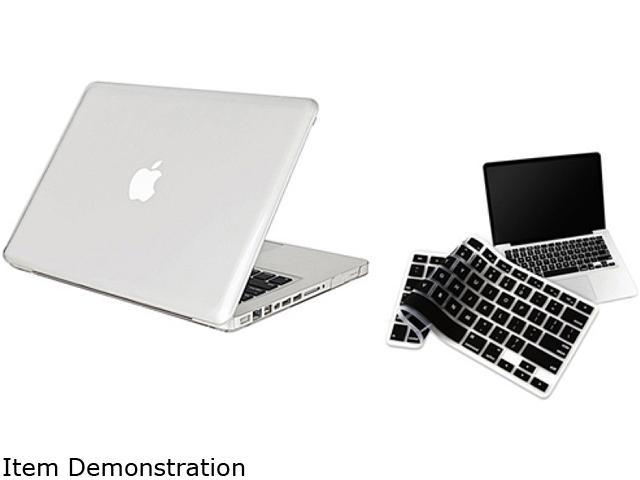 INSTEN Clear Hard Shell Case Compatible With Macbook Pro 13