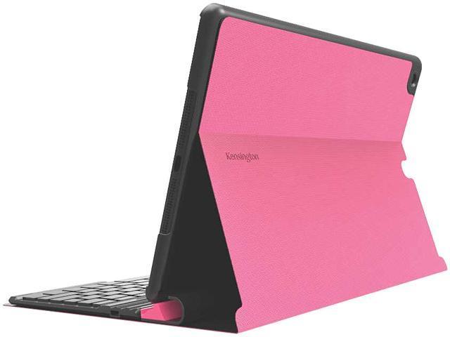 Kensington Pink KeyFolio Exact Pink Thin Folio with Removable Bluetooth Keyboard Model K97091US