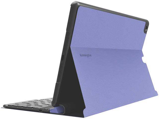 Kensington Purple KeyFolio Exact Purple Thin Folio with Removable Bluetooth Keyboard Model K97092US
