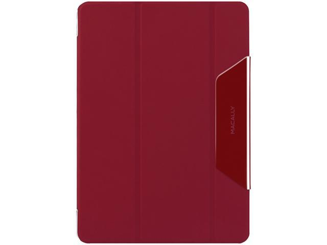 macally Red Clear Case with Red Reversible Cover Designed for iPad Air Model CMatePA5-R