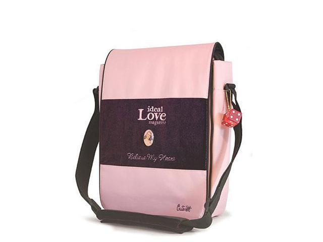 Mobile Edge Pink Maddie Powers Cutebug Hipster Ultraboook Messenger - 14.1