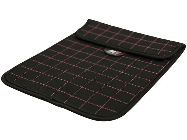 """Mobile Edge Neogrid Carrying Case (Sleeve) for 10"""" iPad, Tablet PC - Black, Pink"""