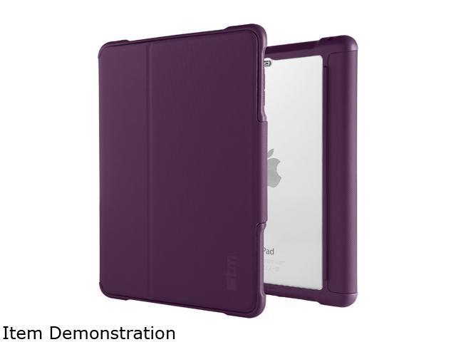 Stm Blackberry Clear Dux Rugged Case For Ipad Mini 4 Model
