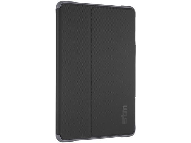 STM Black/Clear Dux Rugged Case for iPad Air 2 Model STM-222-066JY-01