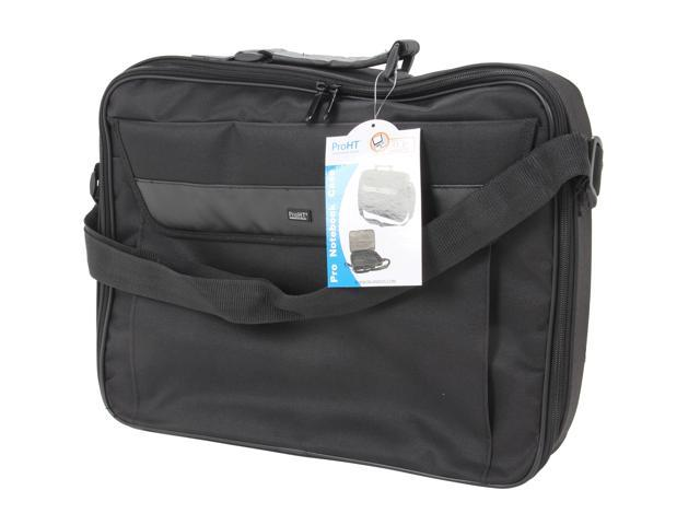 "Inland Black 17.3"" Professional Laptop Notebook Briefcase Model 02459"