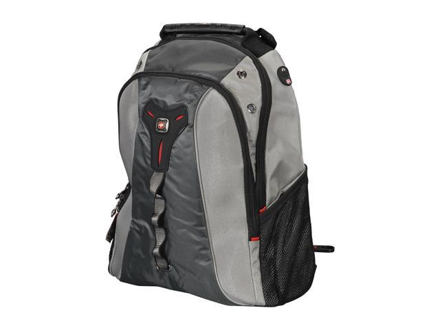 SwissGear Gray Triton Laptop 15.4-inch Backpack Model GA-7313-14F00