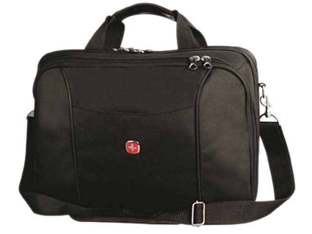 SwissGear Black Laptop Brief with Tricot Lining Model SWA0907