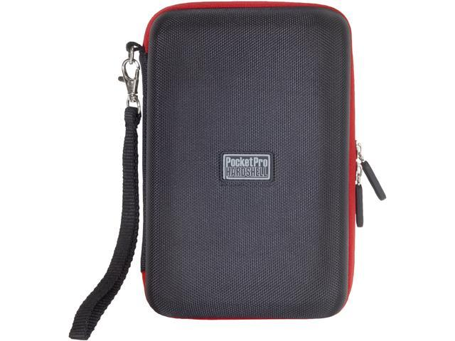 PC Treasures Black Red trim PocketPro Ignite Hardshell for Kindle Fire Model 08489