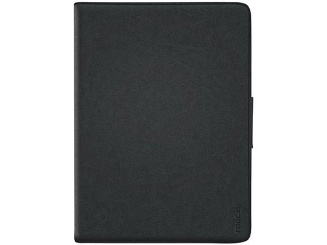 roocase Rotating 360 Dual-View Folio Case for iPad Air 1 / 2, Black
