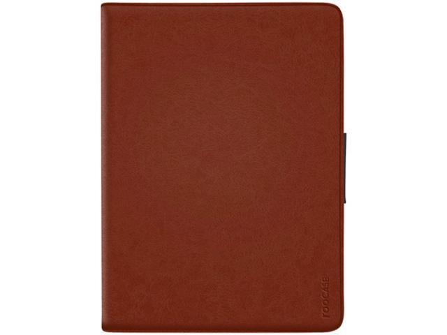 roocase Rotating 360 Dual-View Folio Case for iPad Air 1 / 2, Brown