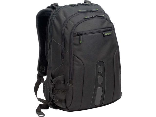 Targus EcoSmart TBB013US Carrying Case (Backpack) for 15.6' Notebook - Black, Green