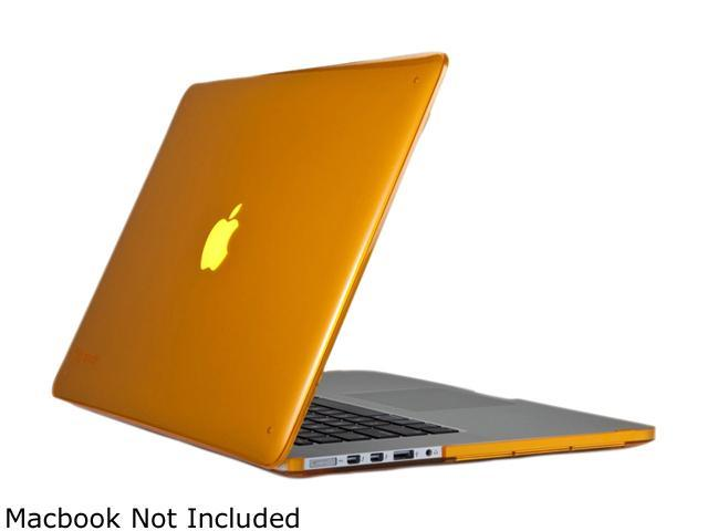 Speck - SeeThru Hard Shell Case for MacBook Pro with Retina Display 15-Inch, Butternut Squash (SPK-A1496)
