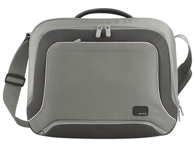 BELKIN Gray/Pink Evo Topload Laptop Bag Model F8N315-122DL