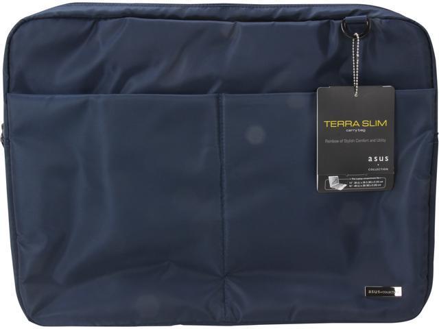 "ASUS Blue 16"" Terra Slim Laptop Carry Bag Model 90-XB1F00BA00060-"